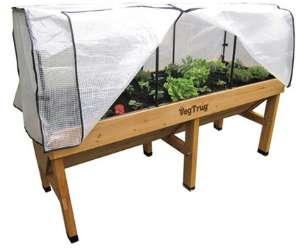 Hochbeet selber bauen aus Garten Holz ist günstig  Gewächshaus ...