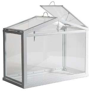 Gut Anlehngewächshaus aus Glas & Holz selber bauen als Wintergarten  MW48