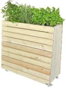 Hochbeet Holz Garten Krauter Gewachshaus Profi